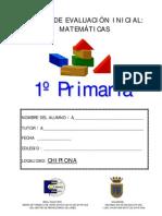PRUEBA DE MATEMÁTICAS 1º