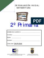 PRUEBA DE MATEMÁTICAS 2º