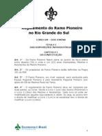 Regulamento pioneiro - 2011