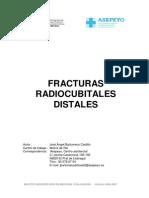 Fracturas radiocutales distales