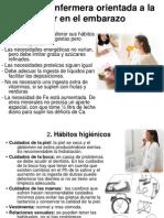Presentacion Del Cuidado a La Embarazada