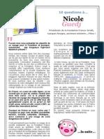 10 questions à Nicole Guedj