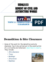 WEEK2 Site Clearance