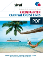 Carnival Cruise Lines Katalog 2012-2013 (Deutschland / DE)