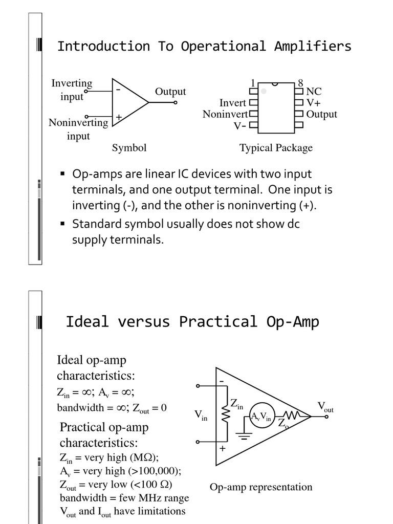 Opampbw Operational Amplifier Amplifier