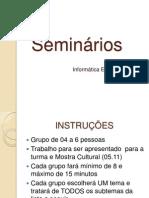 Seminários_manhã