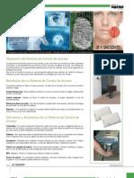 Catálogo de Seguridad - Sección Control de Acceso