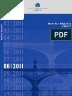 ECB - Monthly Bulletin - August 2011