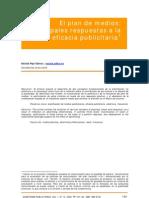 A9 El Plan de Medios Principales Respuestas a La Eficacia Public It Aria