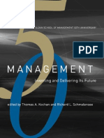 Management - Inventing and Delivering Its Future