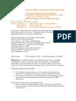 INDIA Today_Course Description-CMU Draft Sept22