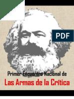 Encuentro Nacional Armas de La Critica
