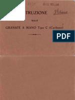 Granata tipo Carbone