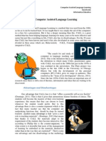 Computer Assisted Language Learning David (Texto)