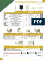 Catálogo de Seguridad - Sección Gabinetes