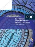 Sexual Orientation, Gender Identity and Justice - A Comparative Law Casebook