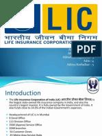 LIC(Life Insurance Corporation) PPT