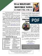 Veterans & Military Families Monthly News-September 2011 Part I
