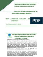 Tecnologia de Controle Ambiental - Respostas - Tema 1 Modo de Compatibilidade
