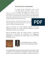 Historia Del Protoclo