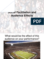 Social Facilitation and Audience Effects