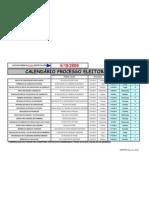Calendário Processo Eleitoral da CIPA