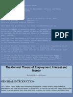 Keynes - General Theory