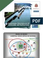 16STMF-Dinamização Hidroviária em SP Hidroanel Metropolitano