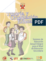 Sesiones de Tutoria Ed-Sexual