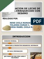 Chila M. René - Elaboración de leche de quinua enriquecido con sésamo-RM