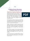 P-16 Prophetic Dream - Miraculous Prophetic Powers to Come