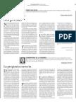 EDH Editorial La Pregunta Correcta 030911