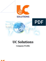 UC Solutions Company Profile