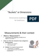 Dimensional Modeling Basics for Healthcare