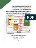 Centro Demostrativo y de Capacitacion Agropecuaria1