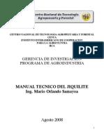 Manual Tecnico Del Jiquilite