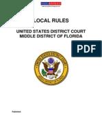 USDC-MDFL-LocalRules12-2009