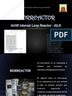 Airlift Internal Loop Bio Reactor