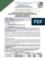 Convocatoria Nacional Sec. y Minilibres La Chona 2011[1]