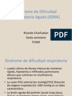 Síndrome de Dificultad Respiratoria Agudo (SDRA)