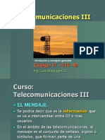 Curso Telecom III 2011-Señal, Ruido