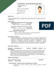 Pituckpong's Resume MAY08