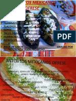 ANTOGITOS MEXICANOS OFRESE