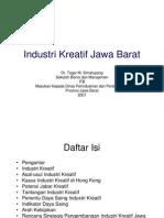 Industri Kreatif Jawa Barat