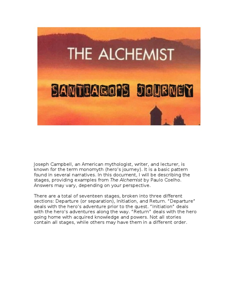 the alchemist summary the alchemist summary a book by summary  the alchemist santiago s journey hero santiago
