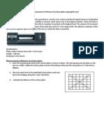 Metrology Lab Manual-2
