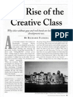 Florida, Richard. the Rise of the Creative Class