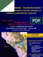 """Programa Municipal Ocupación Guiada """"ALTO TRUJILLO"""". Expo Ms.Arq.Nelly Amemiya Hoshi"""