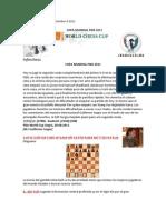 SEMANA  Agosto28.  COPA MUNDIAL FIDE 2011