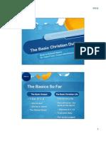 The Basic Christian Duties